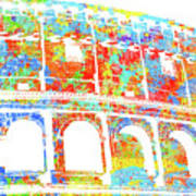 Colosseum - Colorsplash Art Print