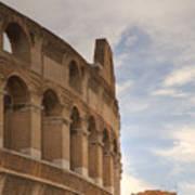 Colosseum In The Historic Centre Of Rome Art Print