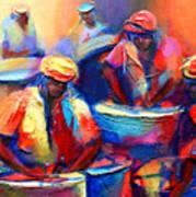 Colour Pan Art Print