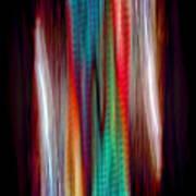 Colour Stream Art Print