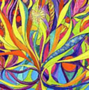 Colourful 2009 Art Print