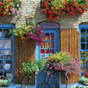 Colourful Boutique,france. Art Print