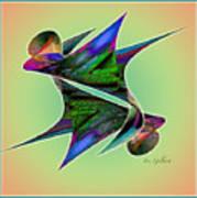 Colours 4 Art Print