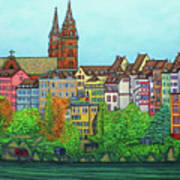 Colours Of Basel Art Print