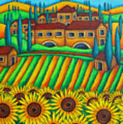 Colours Of Tuscany Art Print