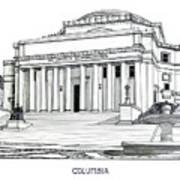 Columbia Art Print by Frederic Kohli