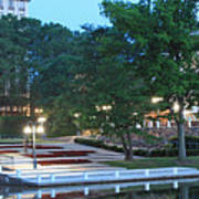 Columbia Lakefront Panorama Art Print