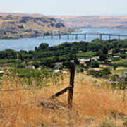Columbia River - Biggs And Maryhill State Park Art Print by Carol Groenen
