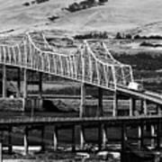 Columbia River Crossing Art Print
