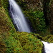 Columbia River Gorge Falls 1 Art Print