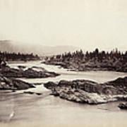 Columbia River: Kettle Falls Art Print