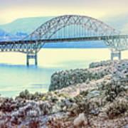 Columbia River Vantage Bridge Art Print