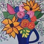Columbia Valley Grapevine  Art Print