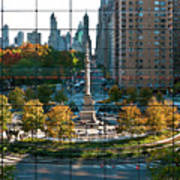 Columbus Circle Art Print by S Paul Sahm