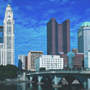 Columbus Ohio Art Print