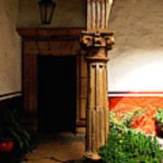 Column In The Corridor Art Print