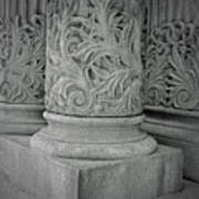 Column Of Mount Vernon Place Art Print