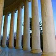 Columns At Jefferson Art Print