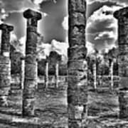 Columns Of Support Art Print