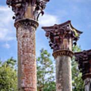 Columns Of Windsor Ruins Art Print