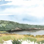 Colyer Lake Art Print