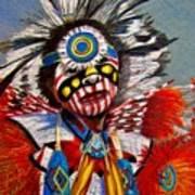 Comanche Dance Art Print