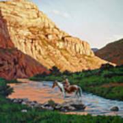Comanche Gold Art Print