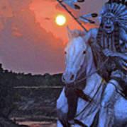 Comanche Spirit Art Print