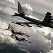 Combat Air Patrol Art Print