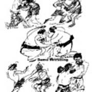 Combat Sports Art Print