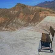 Come Sit Awhile In Death Valley Art Print