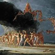 Come Unto These Yellow Sands Art Print by Richard Dadd