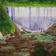 Comerio Dam Art Print