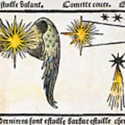 Comet, 1496 Art Print