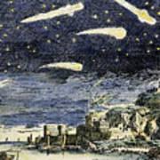 Comets Art Print