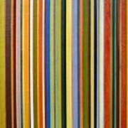 Comfortable Stripes Art Print by Michelle Calkins