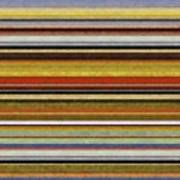 Comfortable Stripes Vl Art Print by Michelle Calkins