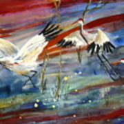 Coming In To Roost Art Print