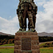 Commando Memorial 2 Art Print