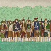 Committeemen On The Green Art Print