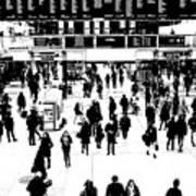 Commuter Art London Sketch Art Print