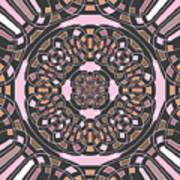 Complex Geometric Abstract Art Print