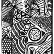 Complex Perception Art Print
