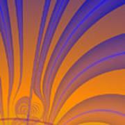 Complimentary Colors Art Print