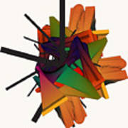 Composition 002 Art Print