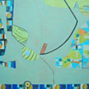 Composition II-07 Art Print