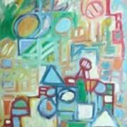 Composition No 4 Art Print