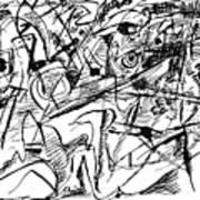 Composition Three Art Print