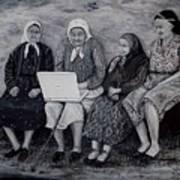 Computer Class Art Print