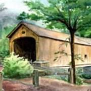 Comstock Bridge Art Print